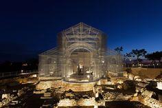 La basilica di rete metallica di Siponto, in Puglia - Il Post
