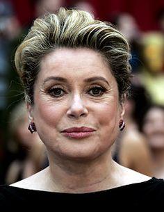 A Femme d'Un Certain Age: Famous Faces. . .catherine deneuve