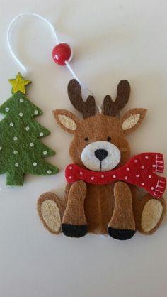 Reindeer Poop, Reindeer Cookies, Reindeer Craft, Red Nosed Reindeer, Felt Decorations, Christmas Decorations, Holiday Decor, Bolo Panda, Christmas Crafts