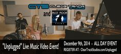 Live Music Video Event with Pilot Moon Films at Clear Track Recording Studios! Dec 9th, register now!