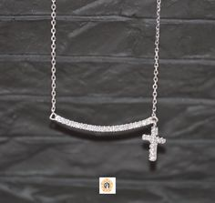 Check out this item in my Etsy shop https://www.etsy.com/listing/214449725/bar-necklace-for-women-religious-bar