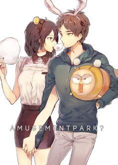 Eren Jaeger x Mikasa Ackerman
