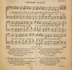 AMAZING GRACE This is my favorite and I love it even more now that my son sings it with me.
