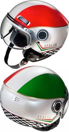 Fulmer Italia helmet, now at Twist 'n' Scoot. www.twistnscoot.com