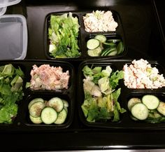 #mealprep. I seriously don't know how I didn't do this before. Leaving at 6:30am just got easiercause I #keto. Organic tuna cucumbers celery and salad. So tough losing after baby 3! 10 lbs down this month. #keepgoing #nogmo #cleaneating #eatyourveggies #ketosis #lowcarb #losethebabyweight #slowlybutsurely #lchf #hflc #protein #carbsaremyenemy #nosugar #healthforlife #energy #noexcusemom #lost10pounds #yay by runwithallyourheart