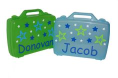 Personalized Carrying Case - Stars