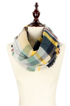We just got in the BEST new Black Yellow Infi...!!!  A FALL MUST HAVE!  Order today at http://wildtyboutique.com/products/black-yellow-infinity-scarf?utm_campaign=social_autopilot&utm_source=pin&utm_medium=pin