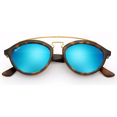 Óculos de Sol Ray Ban New Gatsby Tartaruga com Lente Azul Confira!