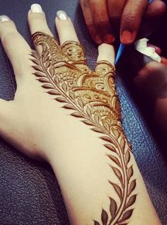 #mehendi #henna #hand #art #design #lovely