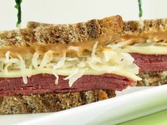 This homemade reuben will stand out from all other popular lunch sandwiches. Take a peek!
