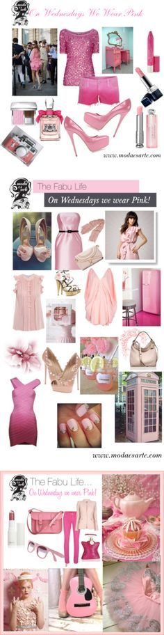 On Wednesdays We Wear Pink We Wear, How To Wear, Virtual Closet, Berry, Boards, Feminine, My Style, Nails, Unique