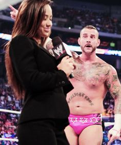 When people are telling lies and you know it #ajlee #cmpunk