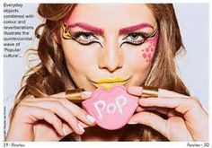 pop art make-up - call THE APOTHECARY to get this done day of the party! (401) 324-6253