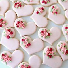 Wedding Cake Cookies Decor Ideas ★ See more: www.weddingforwar… Wedding Cake Cookies Decor Ideas ★ See more: www. Cookies Cupcake, Wedding Cake Cookies, Heart Cookies, Iced Cookies, Royal Icing Cookies, Cookies Et Biscuits, Decorated Wedding Cookies, Wedding Cakes, Cookie Favors