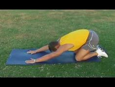 Golf Stretching Exercise For Golfers Lower Back Strain.  Great stretches for anyone's back.