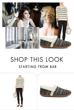 """Coming with looks for the royal wedding with Alex and talking about Astoria"" by lenavancutsem ❤ liked on Polyvore featuring 7 For All Mankind, Line and TOMS"