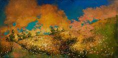 Крайнева Анастасия. Картины мастихином. Солнечный луч