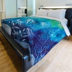 Sea Life Fleece Duvet Cover