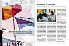 """Beitrag über die Marketingberatung Die Heldenhelfer im Magazin der IHK Wiesbaden """"Hessische Wirtschaft"""" Mai 2014 Als PDF und eMagazin: http://www.ihk-wiesbaden.de/s/presse/print-online/IHK_Magazin/Mai_2014/"""