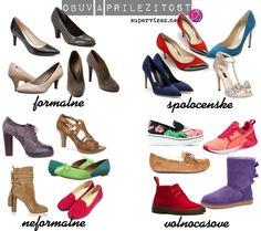 Ako vybrať obuv k oblečeniu