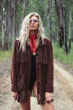Fringe Leather Jacket, Suede Jacket, Soft Suede, Brown Suede, Line Light, Western Wear, Vintage Leather, Cute Outfits, Hipster