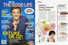#SheaMoisture Coconut & Hibiscus Hand & Body Scrub is featured in the premiere issue of Dr. Oz The Good Life. #Target #Walgreens