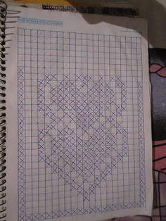 Onyra Croche: Passadeira de Coração!!!