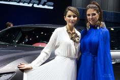 The Geneva Motor Show 2016 -  Maserati Levante Show Girls