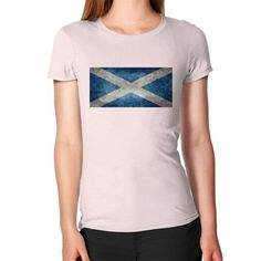 Flag of Scotland vintage retro style Women's T-Shirt