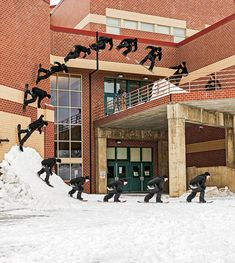 Amazing Sequential Photography, Courtesy of Red Bull Illume Contest snowboard building loop jump image photo sequence loop trick