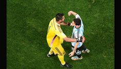 9 julio de 2014 ... Mundial Brasil 2014... Semifinal Argentina vs Holanda. Estadio Arena Corinthians. San Pablo.