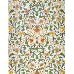 Capture a Daffodil, William Morris and Co. image on a designer roller blind at Creatively Different Blinds. Daffodil, William Morris and Co. blinds from just William Morris, Floral Pattern Vector, Floral Patterns, Art And Craft Design, Tree Patterns, Arts And Crafts Movement, Tile Art, Daffodils, Wood Wall Art