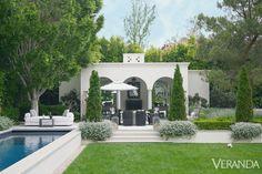 Los Angeles Villa - Modern California Home - Veranda