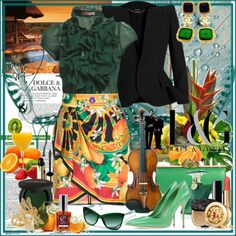 """""""Green is the color of life!"""" by olivia-richter on Polyvore"""