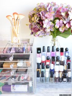 Beauty storage 101: How to do an epic beauty purge & organise your products