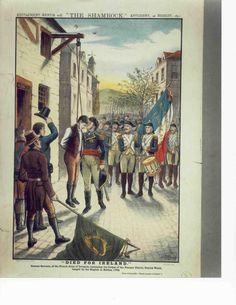 Ireland 1798 Roisin Dubh, Irish Independence, Irish Costumes, Irish Clothing, Old Irish, Magical Home, Irish Roots, Canadian History, Power To The People