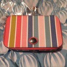 NWT COACH Jewelry box Brand-new coach multicolored jewelry box Coach Accessories