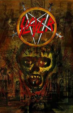 Slayer Seasons in the Abyss Album Cover Music Poster 11x17