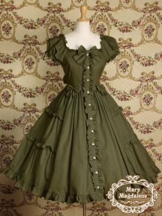 Mary Magdalene メアリーマグダレン i really like button front dress this is so cute i just want this dress