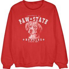 [Sweatshirt] - Beagle Paw State