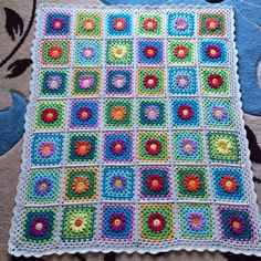 "Cotton  blanket ""Daisy dream"""