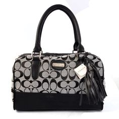 Coach Legacy Weekend In Signature Medium Grey Satchels ADL Give You The Best feeling!