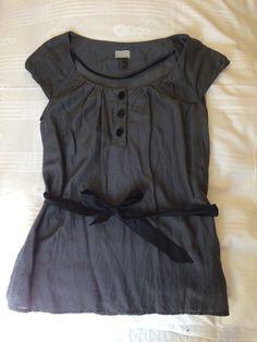 Top, t-shirt H&M 38 (M, T2) grigio