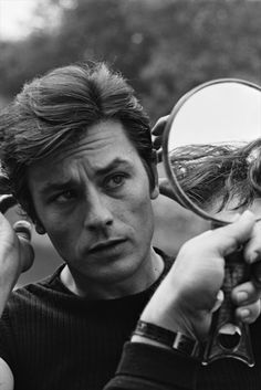 Alain Delon, 1968 #classic #film #OldHollywood #movies #cinema #vintage #icon #legend #actor #handsome #sexy #french
