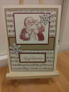 Stampin Up, Santa's List