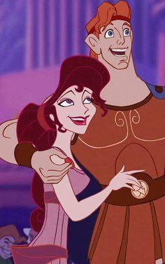 Hercules and Meg (Hercules) (c) 1997 Walt Disney Animation Studios Disney Animation, Disney Pixar, Disney Ships, Disney Films, Disney And Dreamworks, Disney Cartoons, Disney Magic, Disney Art, Disney Characters