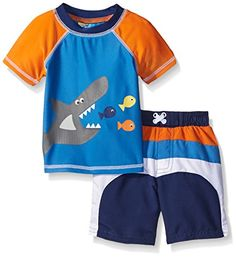 online shopping for Sol Swim Baby Boys' Nautical Days Rash Guard Set from top store. See new offer for Sol Swim Baby Boys' Nautical Days Rash Guard Set Boys Fashion Dress, Fashion Dress Up Games, Kids Fashion Boy, Little Boy Outfits, Baby Boy Outfits, Kids Outfits, Boys Swim Shorts, Baby Swimsuit, Boys Swimwear