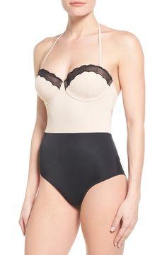 18d8300235 Topshop Scallop One-Piece Swimsuit