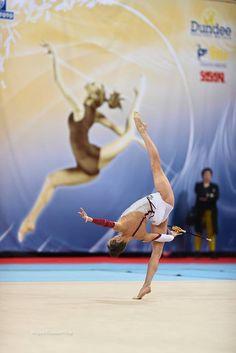 Ganna Rizatdinova (Ukraine) won silver in clubs finals at World Cup (Sofia) 2016