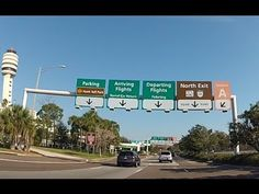 Take a ride with me around the Orlando International Airport (MCO). We drive through Terminal A and Terminal B, ending our journey at the cell phone waiting . Airport Signs, Orlando Airport, Vacations, Journey, Park, Youtube, International Airport, Holidays, Vacation